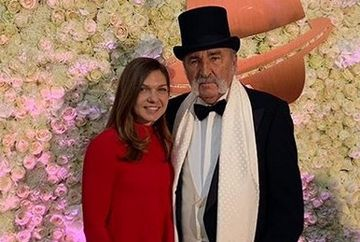 ION ȚIRIAC LA 80 DE ANI! FOTO Ion Țiriac, apariție de senzație la cina de ziua lui, la Muzeul Prado! S-a fotografiat alături de Simona Halep