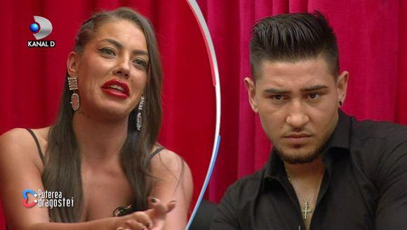 """Moment tensionat in Gala """"Puterea dragostei""""! Bogdan Mocanu a cedat nervos in timpul interventiei lui Andy! Iata ce marturisiri incendiare a facut fostul iubit al Roxanei despre intalnirea lor recenta!"""