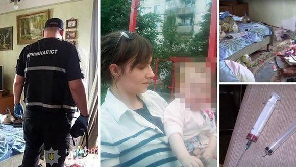 Fetiţă de 2 ani găsită în stare critică în casă, lângă cadavrele părinţilor ei. Alexandra abia mai respira
