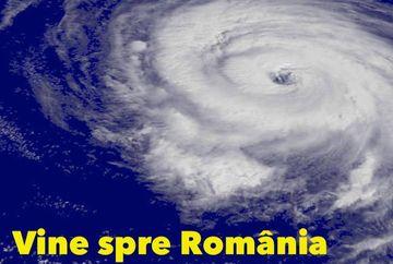 Anunț de ultimă oră: Un ciclon periculos loveşte România