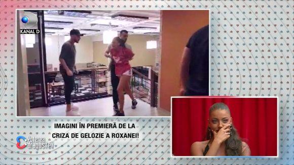 Roxana, crize de gelozie la limita isteriei! Iata imagini in premiera cu iesirea necontrolata a concurentei fata de fostul ei iubit, Bogdan Mocanu!