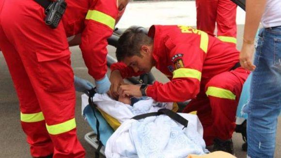Un copil de un an și jumătate din Botoșani a murit subit, in bratele mamei lui