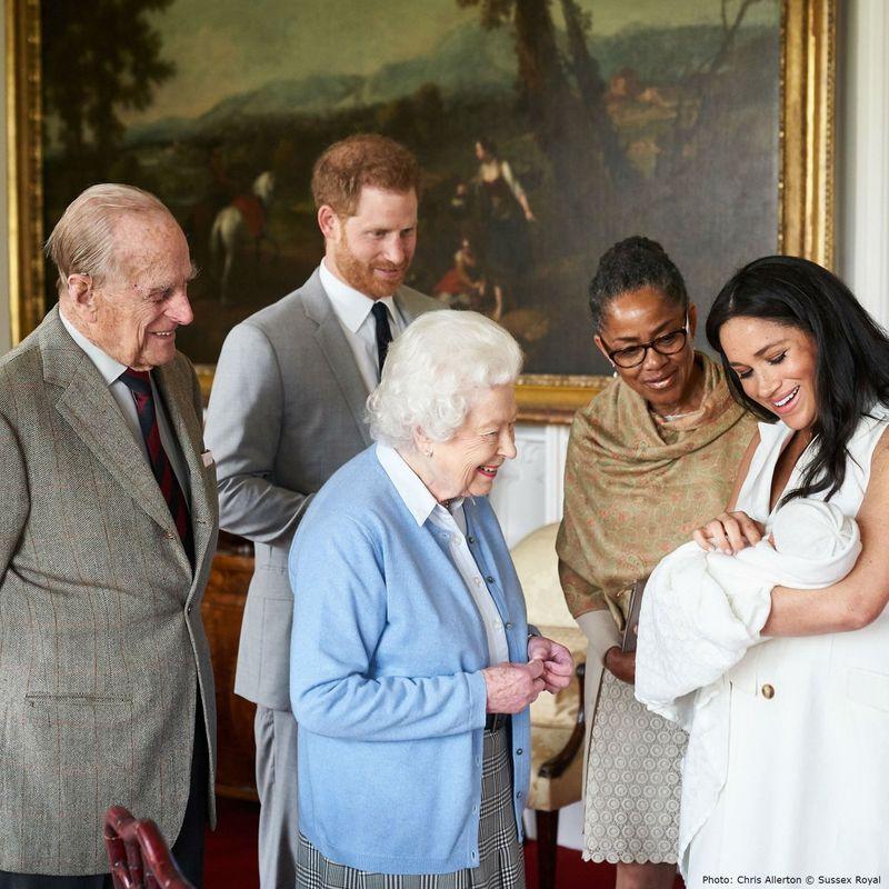 regina si stranepotul