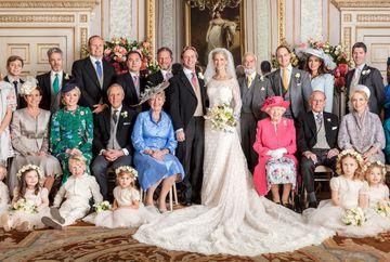Iata primele imagini oficiale de la nunta lui Lady Gabriella Windsor. Cat s-a lucrat la rochia de mireasa