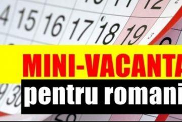 Veşti bune pentru milioane de români: Angajaţii vor avea parte de o nouă minivacanţă