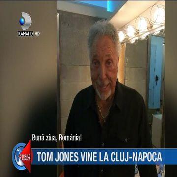 Primul mesaj al lui Tom Jones inainte de concertul de la Cluj! Ce mesaj le-a transmis fanilor