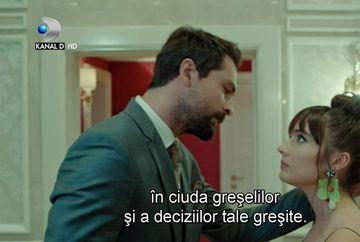 """Zeynep pe cale sa il ierte pe Alihan! Afla ce se va intampla cu relatia celor doi indragostiti, in aceasta seara, intr-un nou episod din serialul """"Pretul fericirii"""", de la ora 20:00, la Kanal D!"""