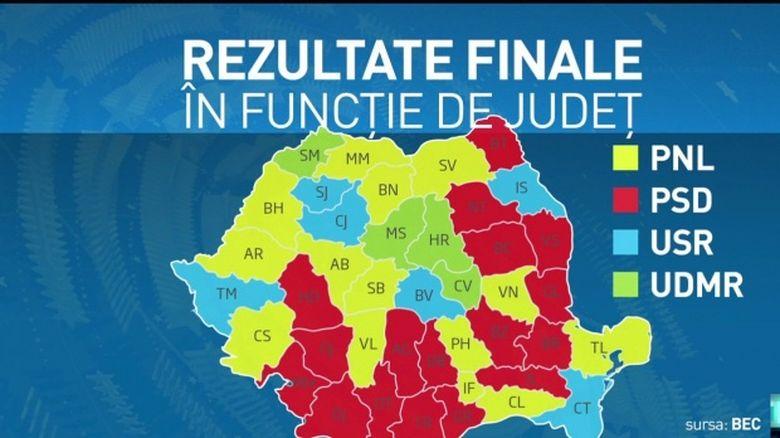 Rezultate finale alegeri europarlamentare 2019. Cum arată clasamentul final al partidelor politice