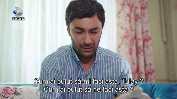 """Tufan, in stare de soc! Afla ce decizie naucitoare va lua sotia sa, Tulay, in aceasta seara, intr-un nou episod din serialul """"Povestea noastra"""", de la ora 20:00, la Kanal D!"""