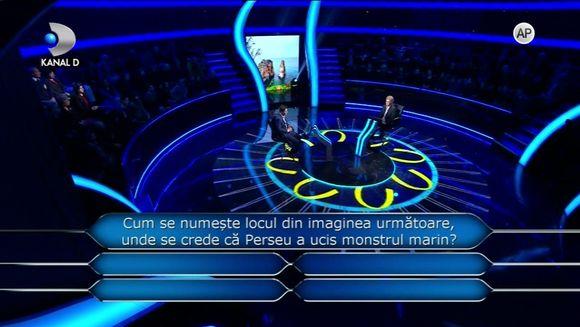"Nu ratati o noua editie ""Vrei sa fii milionar?"", prezentata de Teo Trandafir, ASTAZI, de la ora 23:00, la Kanal D!"