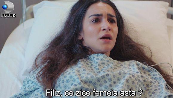 """Viata lui Cicek, pe muchie de cutit! Afla ce se va intampla cu prietena lui Filiz, in aceasta seara, intr-un nou episod din serialul """"Povestea noastra"""", de la ora 20:00, la Kanal D!"""