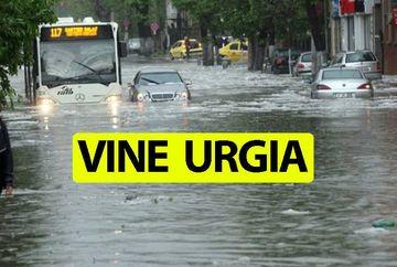 Avertizare meteo! E urgie în aproape toată România! Cod galben și portocaliu