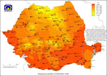 Vine caldura peste Romania. ANM a emis prognoza meteo pe patru săptămâni. Vremea până pe 1 iulie