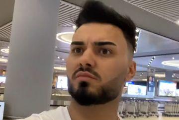 """Jador extrem de nervos. Ce a patit concurentul de la Puterea Dragostei in aeroportul din Turcia: """"E cea mai proasta zi din viata mea"""""""