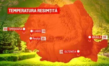 România, lovită de radiații periculoase si temperaturi greu de suportat