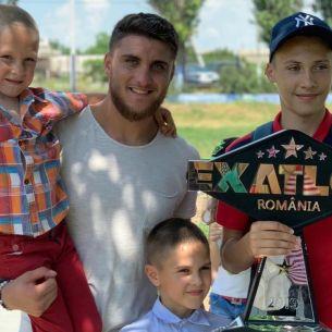 Ion Surdu, câștigătorul Exatlon sezon 3,  reîntoarcere emoționantă pe meleagurile copilăriei. Ce surprize l-au așteptat acolo