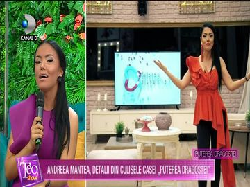 Andreea Mantea a anuntat cand are loc MAREA FINALA ''Puterea dragostei''!