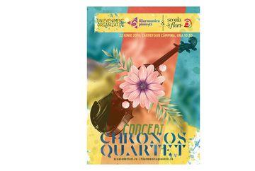 """Cand muzica intalneste florile! Scoala de Flori te asteapta la concertul """"Chronos Quartet"""""""