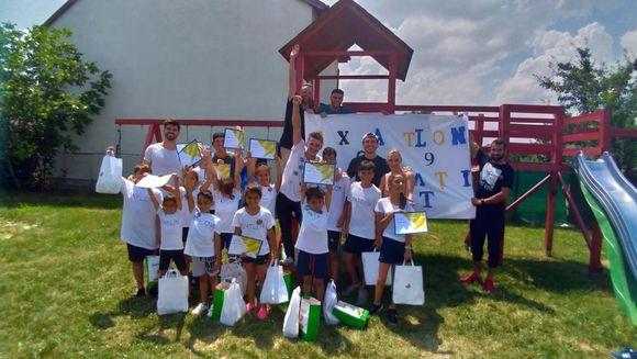 """Fosti concurenti """"Exatlon"""" i-au facut fericiti pe copiii de la centrul de plasament Casa Iosif din Bucuresti"""