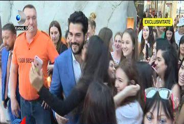 Cel mai chipes barbat din lume, Burak Özçivit, cunoscut sub numele de Kemal, interviu EXCLUSIV pentru Kanal D! Cum l-au primit fanele din Romania