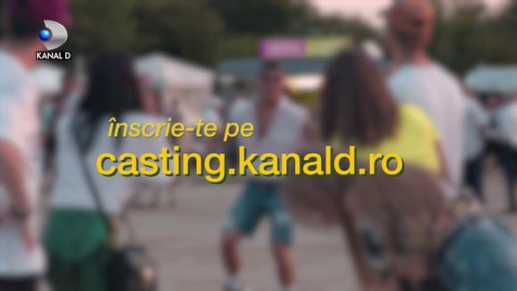 Intra pe casting.kanald.ro si inscrie-te in show-ul cu care poti cuceri o tara intreaga, dar si marele premiu de 100.000 de lei