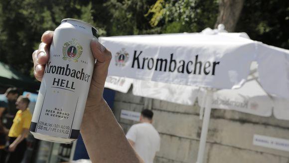 Krombacher, lider al intregii piete germane de bere, prezent la petrecerea de vara Kanal D!