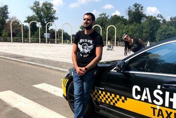 """IMAGINI EXCLUSIVE! Ce face Catalin Cazacu, prezentatorul """"Cash Taxi"""", in pauzele de la filmari?"""