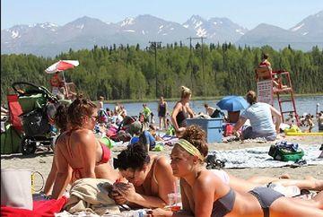 Caniculă în ALASKA. Record de temperatura la Anchorage
