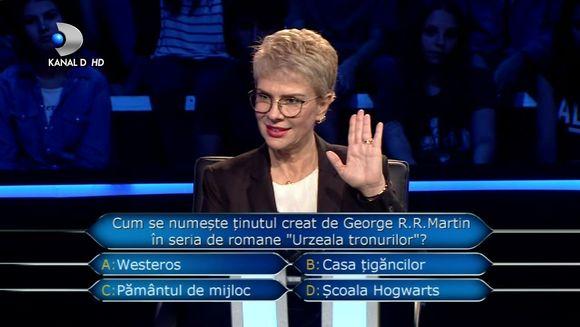 ''Tu nu stii, eu nu stiu, cum procedam?'' Teo Trandafir te invita la o editie incediara ''Vrei sa fii milionar?'', in aceasta seara, de la 23:00, pe Kanal D