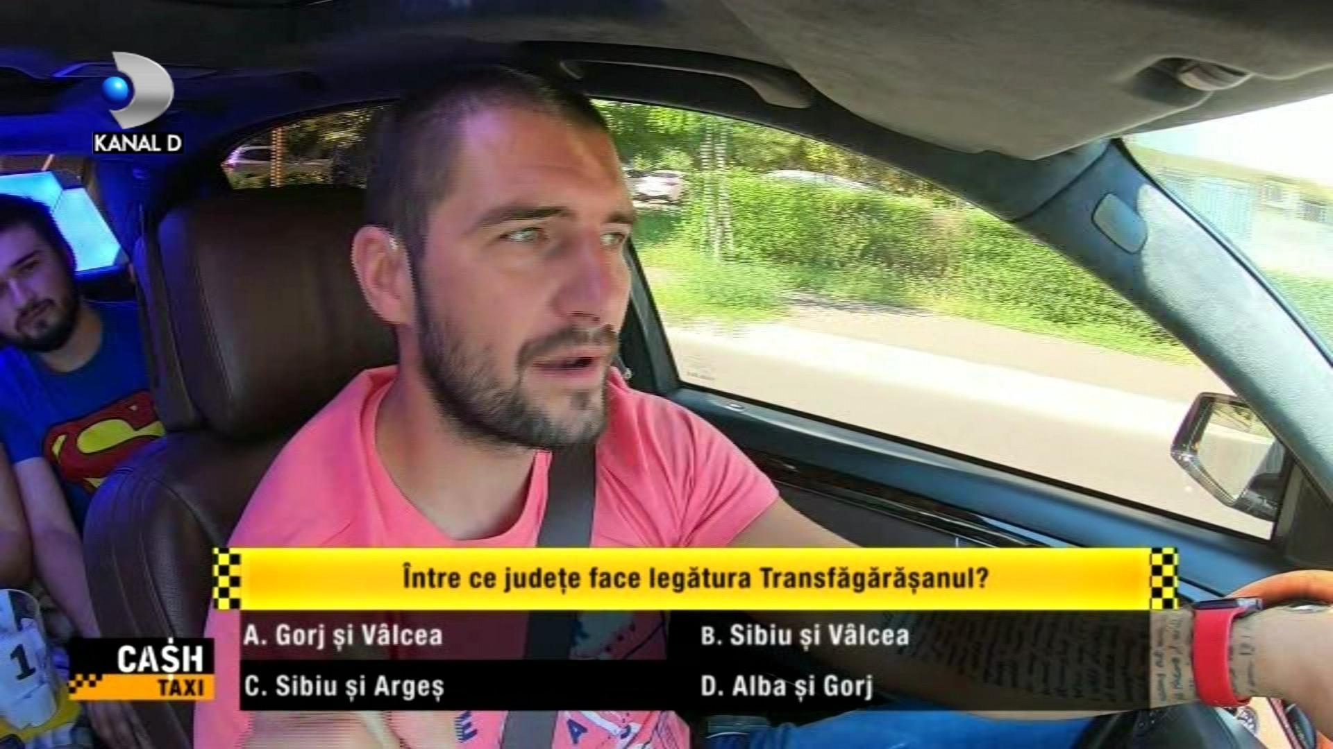 """Catalin Cazacu, pregatit sa dea banii unor pasageri isteti si pusi pe glume, in aceasta seara, intr-o noua editie de senzatie """"Cash Taxi"""", de la ora 23:00, la Kanal D!"""
