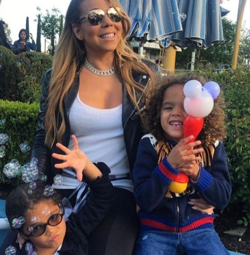 mariah and kids