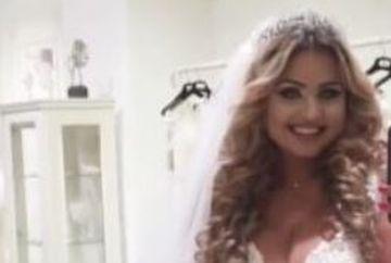 Cand toata lumea credea ca s-a despartit, Plusica se MARITA! Primele imagini cu rochia de mireasa