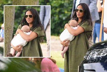 """Isterie! Cum il tine Meghan Markle pe fiul nou nascut in brate! """"O sa-l scape pe micut. Nu e in stare nici sa isi tina copilul in brate"""""""