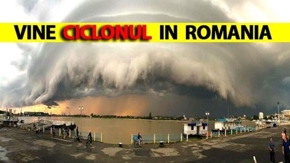 Atentie! Ciclonul devastator din Grecia ar putea sa ajunga in Romania! Specialistii sunt in garda