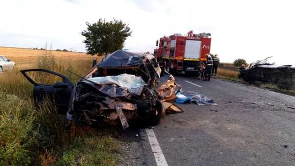 Accident GRAV, duminica dimineata! Trei oameni au murit