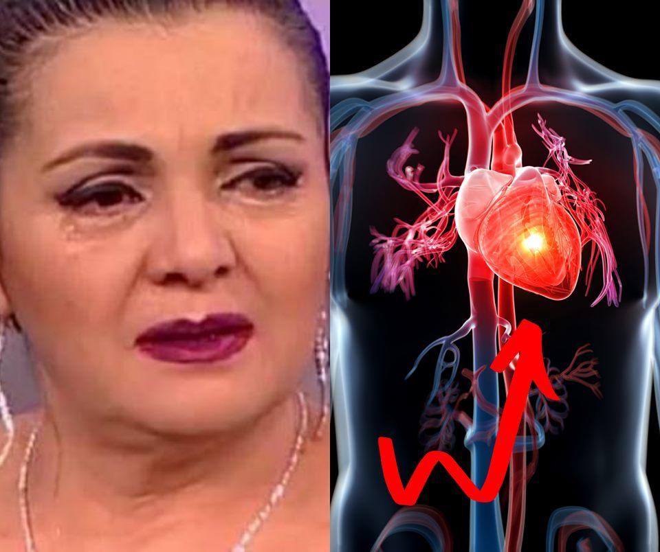 Cornelia Catanga a facut infarct si se afla in stare grava! Infarctul da primele semne cu zile sau saptamani inainte, dar nu stim sa le recunoastem