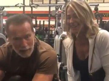 Ce fac Nadia Comăneci şi Arnold Schwarzenegger la aniversarea a 43 de ani de la primul 10 din gimnastică