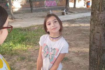 """Ce a putut sa faca o fetita din SUA venita la bunici, in Galati: """"Vai de noi si de educatia nostra!"""""""