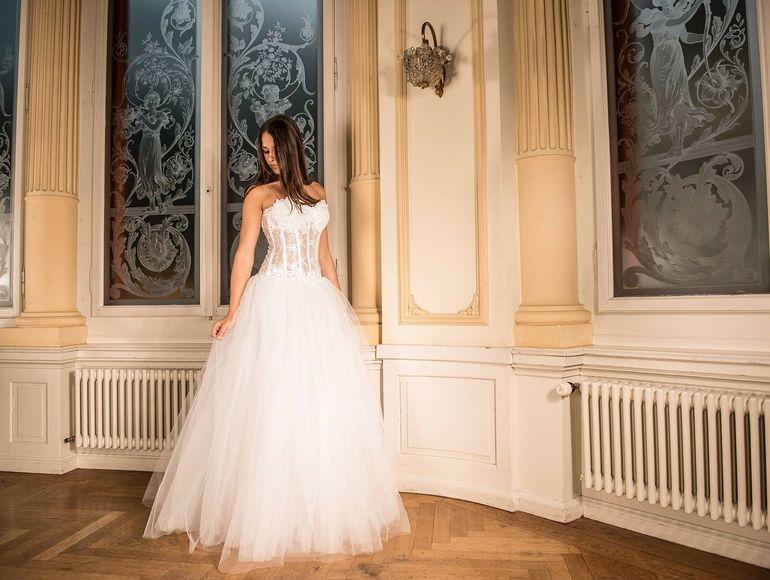 rochii de nunta elegante