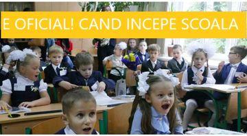 E oficial! Cand incepe scoala si cate vacante vor avea elevii. Structura anului scolar 2019-2020
