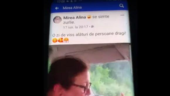 Imagini şocante: Un procuror e LIVE pe Facebook de la volan, cu copilul pe scaunul din dreapta (VIDEO)