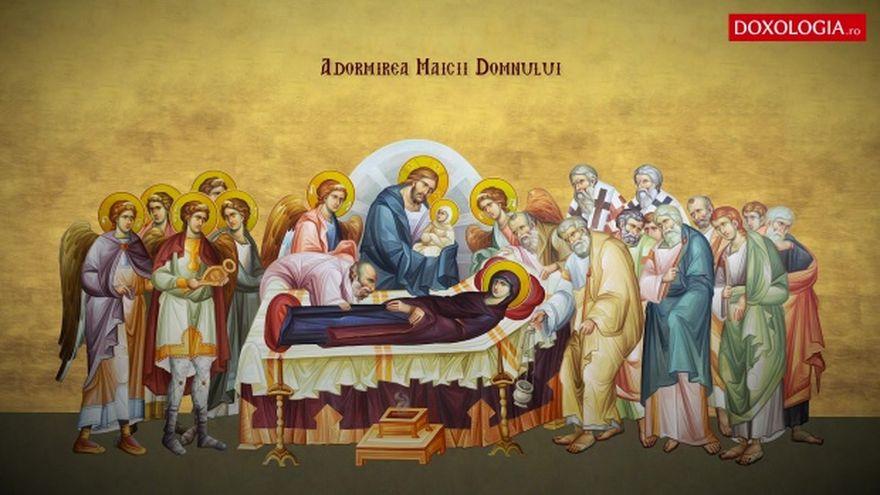 Sărbătoare Mare: Sfânta Maria. Ce este interzis să faci de Adormirea Maicii Domnului. E PĂCAT MARE!