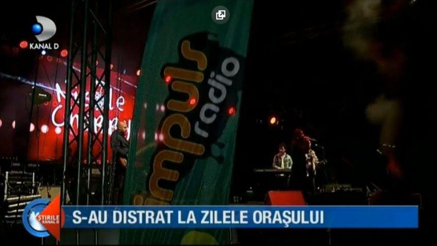 Artisti de top la zilele orasului Tulcea! Nicole Cherry, Liviu Teodorescu si Damian & Brothers au urcat pe scena