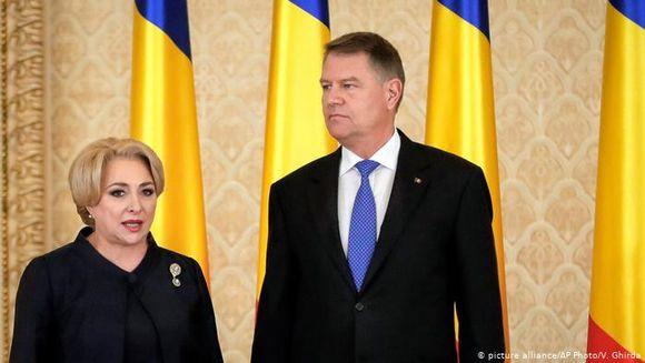 """Iohannis, despre Dăncilă în privinţa vizitei în SUA: """"Simpatică doamna premier"""""""