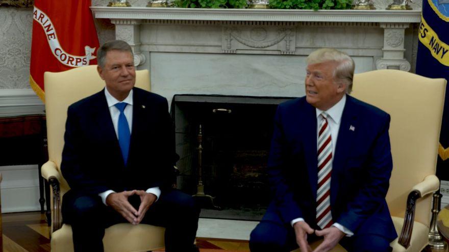 Ce au discutat Klaus Iohannis si Donald Trump la intalnirea de la Casa Alba