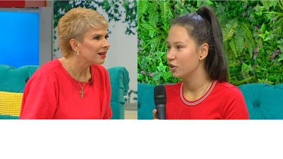 Premiera: Teo Trandafir, test fulger impreuna cu fiica ei, Maia. Ce raspunsuri incredibile a dat tanara