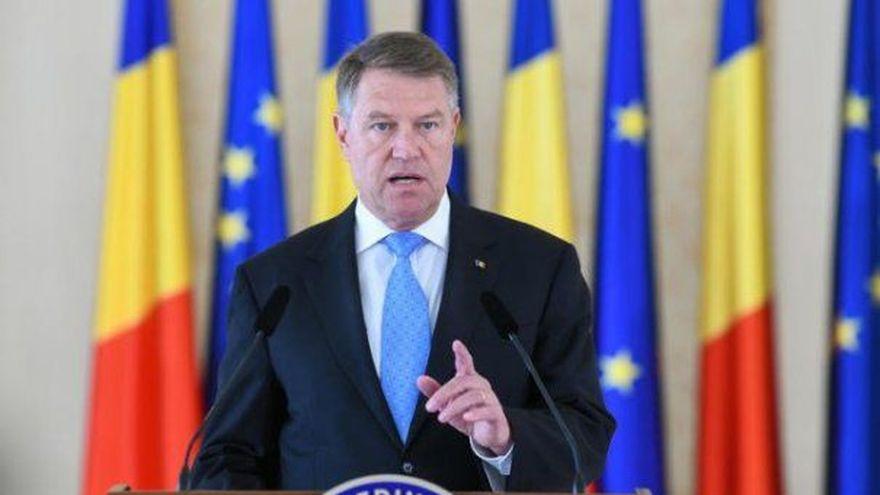 Preşedintele Iohannis, anunţă că mâine face o declaraţie despre criza politică - VIDEO