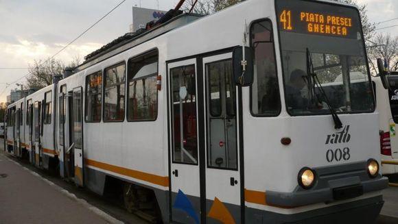 Tramvaiul 41 îşi reia circulaţia începând de sâmbătă