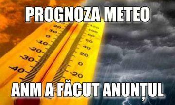 ANM, prognoza meteo. Cum va fi VREMEA pe regiuni până în 15 septembrie