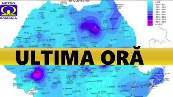 Vremea. Se raceste in toata tara! ANM anunta ploi si vijelii in Bucuresti si alte regiuni